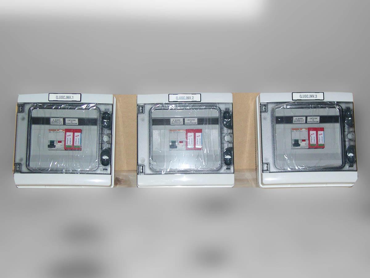 Schema Elettrico Quadro Di Campo Stringhe : Quadri elettrici per energie rinnovabili