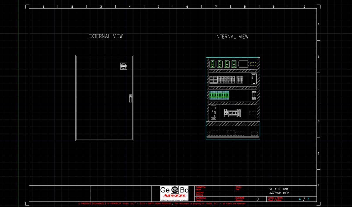 Schemi Elettrici Quadro : Progettazione schemi elettrici e d